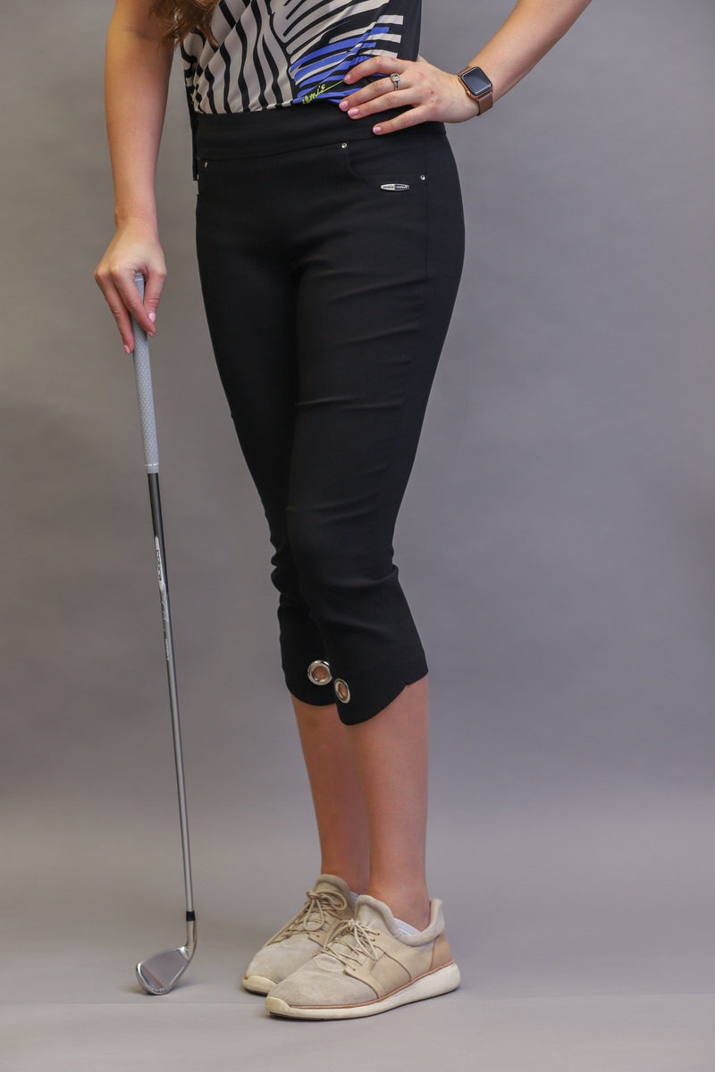 "Pants,Jamie Sadock,Jamie Sadock Women's 33"" Mid Capri Pants - Black or Bisque,the-ladies-pro-shop-2,ladiesproshop,ladiesgolf,golfclothes,ladiesgolfclothes,cutegolfclothes,womensgolfclothes,ladiesgolfclothing,womensgolfclothing"