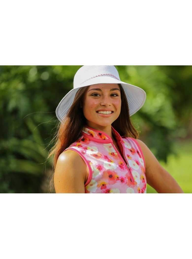 "Hats,Dorfman Pacific,Dorfman Hat- Ribbon Bucket Hat-3.5"" Brim-4 Colors,the-ladies-pro-shop-2,ladiesproshop,ladiesgolf,golfclothes,ladiesgolfclothes,cutegolfclothes,womensgolfclothes,ladiesgolfclothing,womensgolfclothing"