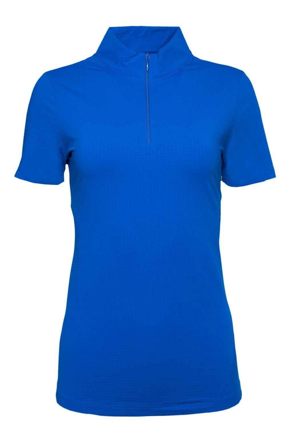 Shirts,IBKUL,IBKUL Women's Short Sleeve Solid Mock Neck Golf Sun Protection Shirt - Assorted Colors,the-ladies-pro-shop-2,ladiesproshop