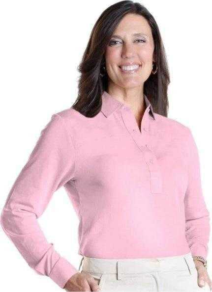 Shirts - Leon Levin - Leon Levin Basic Long Sleeved Golf Shirt - the-ladies-pro-shop-2