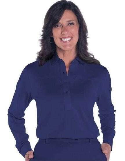 Shirts,Leon Levin,Leon Levin Basic Long Sleeved Golf Shirt,the-ladies-pro-shop-2,ladiesproshop