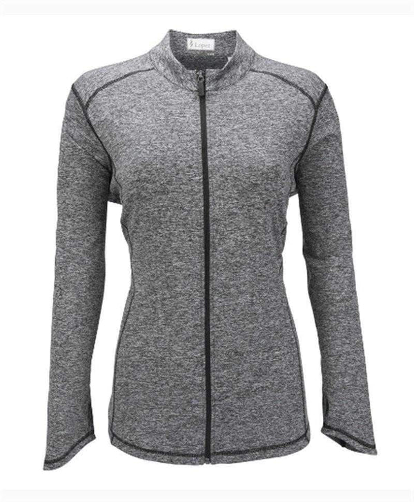 Jackets,Nancy Lopez,NANCY LOPEZ JAZZY JACKET PLUS HEATHER BLACK,the-ladies-pro-shop-2,ladiesproshop,ladiesgolf,golfclothes,ladiesgolfclothes,cutegolfclothes,womensgolfclothes,ladiesgolfclothing,womensgolfclothing