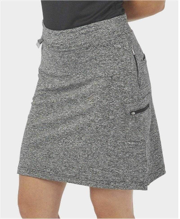 Skort,Nancy Lopez,NANCY LOPEZ GOLF CLUB Knit Pull On SKORT BLACK HEATHER,the-ladies-pro-shop-2,ladiesproshop,ladiesgolf,golfclothes,ladiesgolfclothes,cutegolfclothes,womensgolfclothes,ladiesgolfclothing,womensgolfclothing