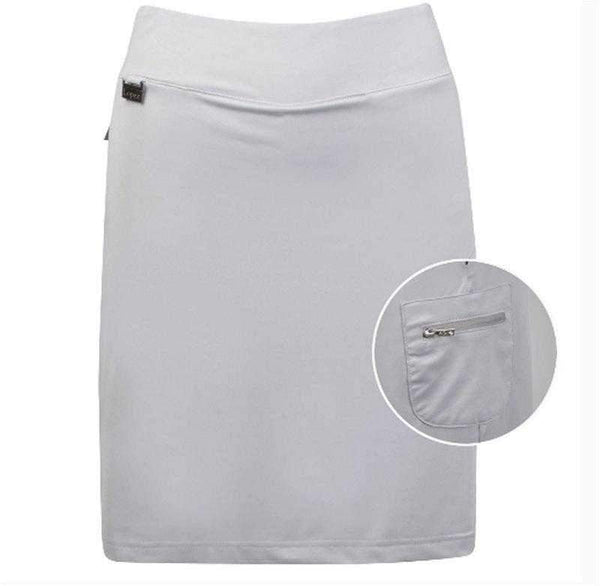 Skort,Nancy Lopez,NANCY LOPEZ CLUB Knit Pull On SKORT SILVER,the-ladies-pro-shop-2,ladiesproshop,ladiesgolf,golfclothes,ladiesgolfclothes,cutegolfclothes,womensgolfclothes,ladiesgolfclothing,womensgolfclothing