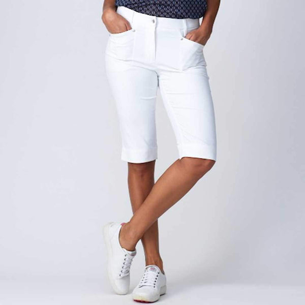 "Shorts,Daily Sport,Daily Sport Basic Women's Solid Lyric 24"" Stretch Bermuda Shorts,the-ladies-pro-shop-2,ladiesproshop,ladiesgolf,golfclothes,ladiesgolfclothes,cutegolfclothes,womensgolfclothes,ladiesgolfclothing,womensgolfclothing"