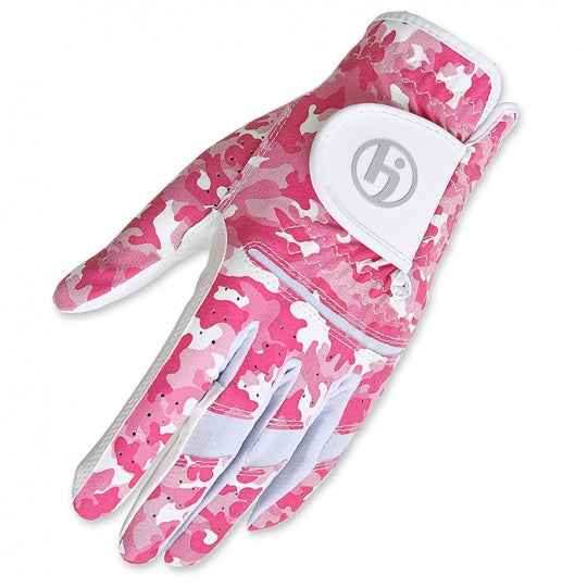 HJ Women's Camouflage Print All Weather Golf Gloves- 5 Colors