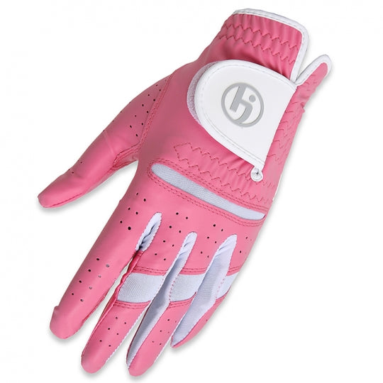 HJ Women's Fashion All Weather Golf Gloves-LEFT Hand - 10 Colors
