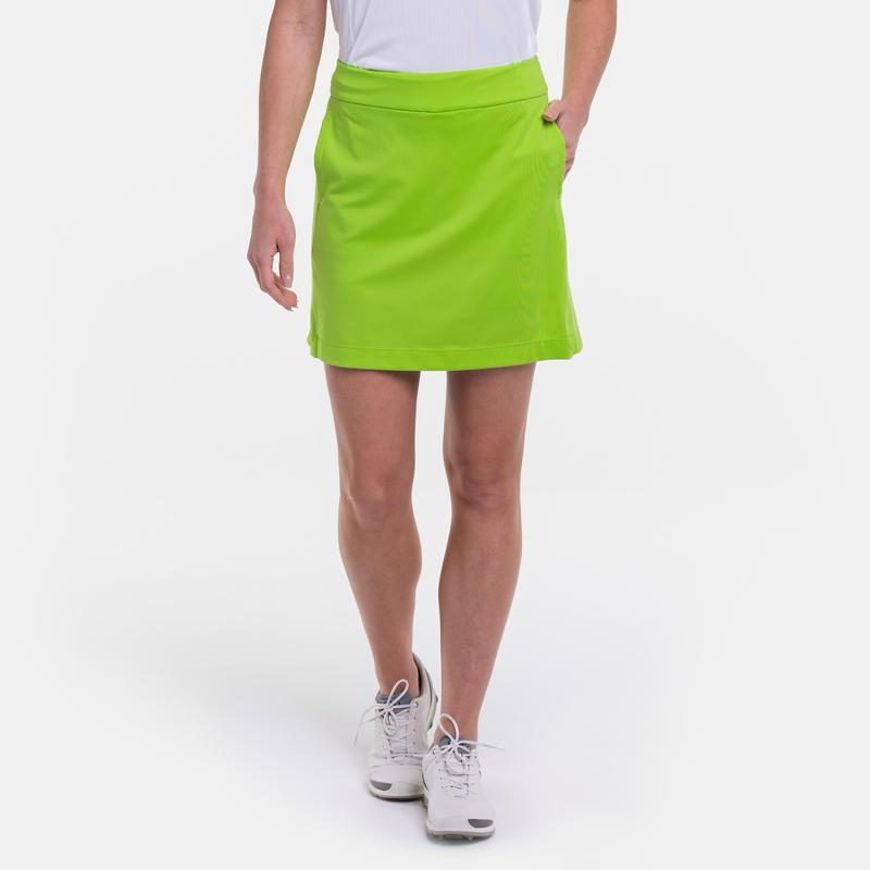 "EP Pro Basic Knit Pull On 17.5"" Skort with Back Pleats- 7 Colors (In Stock Items)"