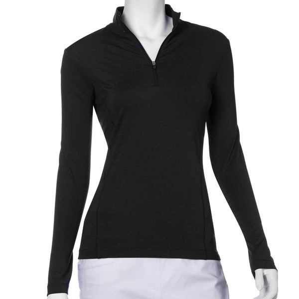 Shirts,EP Pro,EP Pro Basic Tour Tech Long Sleeved Solid Shirt-Basic Colors,the-ladies-pro-shop-2,ladiesproshop