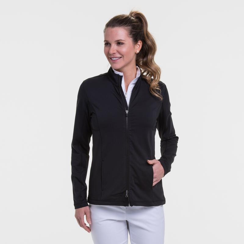EP Pro Basic Long Sleeved Zip Jersey Jacket-Basic Colors