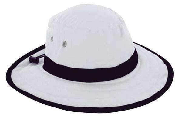 Ahead Palmer Canvas Sun Hat with Large Brim and Accent Trim - the-ladies-pro-shop-2