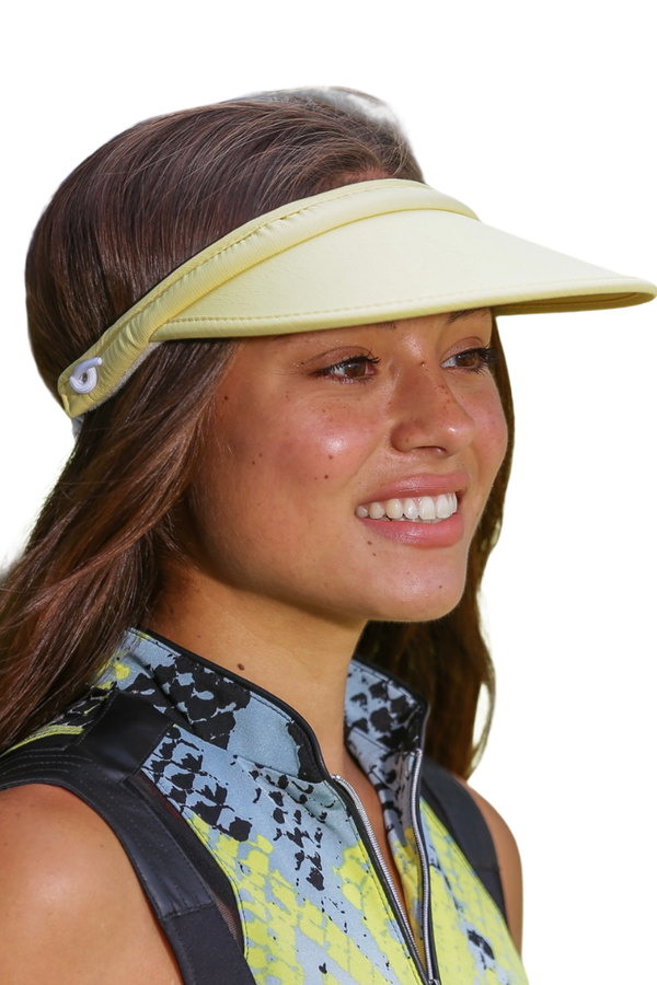 "Kate Lord Lite 3.5"" Brim Visor -No Headache Coil-16 Colors!"