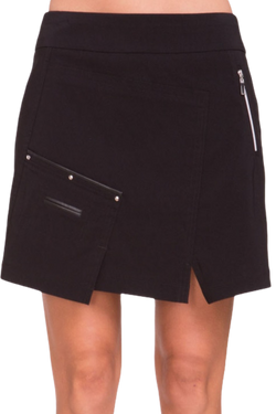 "Jamie Sadock Women's Basic Skinnylicious Pull on 17.5"" Skort-Black***"