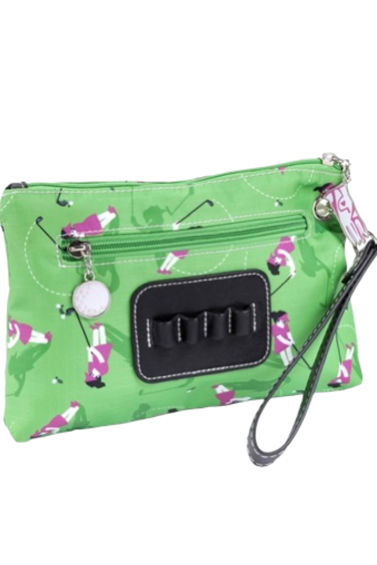 Sydney Love Swing Time Cosmetic Bag with Tee Holder