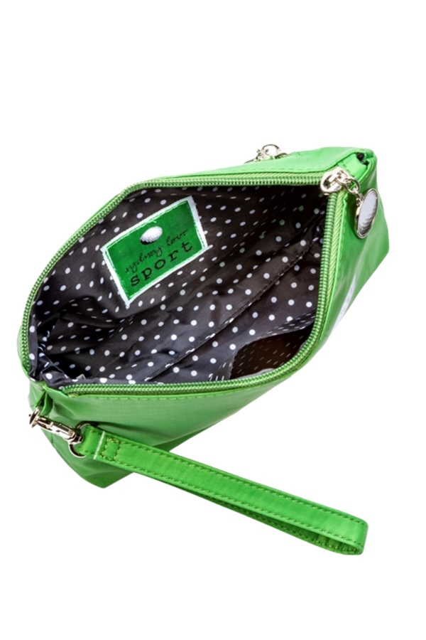 Sydney Love Golf Cosmetic Bag with Wristlet