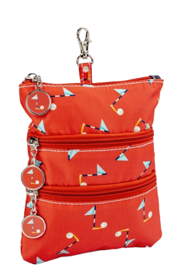 Sydney Love Clip on Accessory Pouch-PIn High Golf