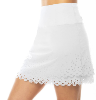 white lucky in love stars skort ladies pro shop ladies golf