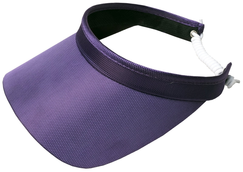 "the-ladies-pro-shop-2,Glove It Solid Collection 3.25"" Square Brim Clip on Visor - 12 Colors,Glove It,Hats"