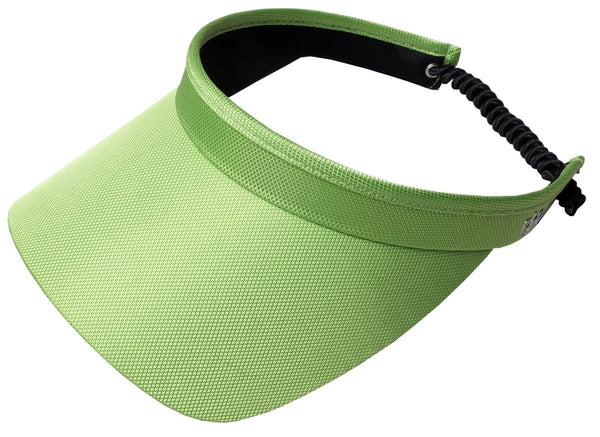 "Glove It Solid Collection 3.25"" Square Brim Clip on Visor - 12 Colors"