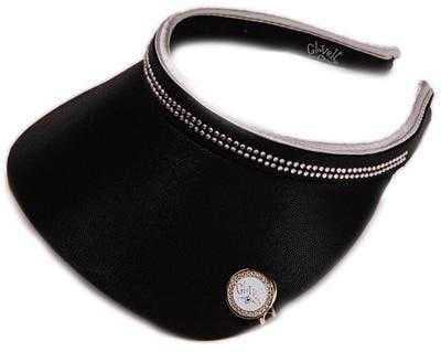 "Hats,Glove It,Glove It Bling Collection Sparkly Clip On 3.5"" Mid Sized Visor with Ball marker and Clip Set,the-ladies-pro-shop-2,ladiesproshop"