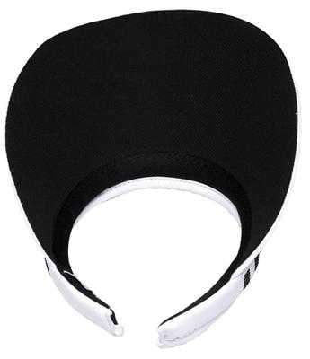 "Hats,Glove It,Glove It ""Bling"" Solid Collection Large 4"" Brim Clip on Visor with Square Black Crystals,the-ladies-pro-shop-2,ladiesproshop,ladiesgolf,golfclothes,ladiesgolfclothes,cutegolfclothes,womensgolfclothes,ladiesgolfclothing,womensgolfclothing"