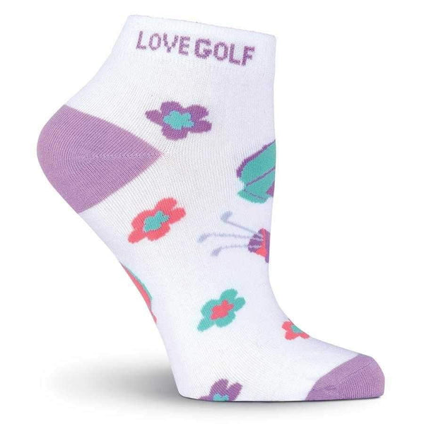 "Socks,KBell,KBell Women ""Love Golf"" Anklet Socks,the-ladies-pro-shop-2,ladiesproshop,ladiesgolf,golfclothes,ladiesgolfclothes,cutegolfclothes,womensgolfclothes,ladiesgolfclothing,womensgolfclothing"