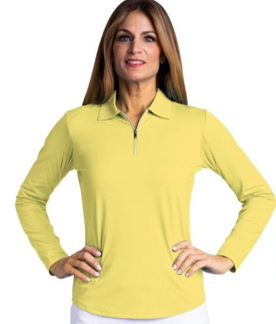 Bette & Court Ladies Long Sleeve COLLARED Sun Shirts- Assorted Colors