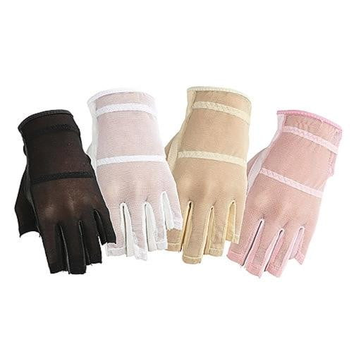 Golf Gloves,HJ,HJ Women's Solaire Mesh Gloves-Half Finger - 4 Colors,the-ladies-pro-shop-2,ladiesproshop