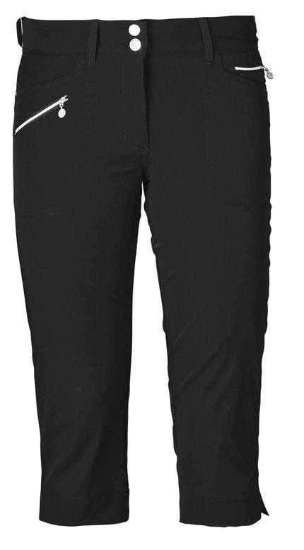 "Daily Sports Basic Women's Solid Miracle Stretch 29"" Golf Capri Pants 