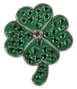 Ballmarkers,Navika,Navika Four Leaf Clover Sparkly Ball Marker and Clip Set,the-ladies-pro-shop-2,ladiesproshop,ladiesgolf,golfclothes,ladiesgolfclothes,cutegolfclothes,womensgolfclothes,ladiesgolfclothing,womensgolfclothing