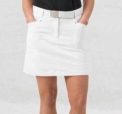 "Daily Sport Basic Women's Solid Lyric 18"" Stretch Golf Skort"