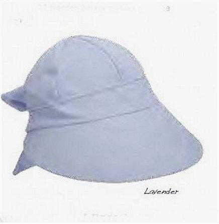 "Dorfman Hat- Swimsuit Fabric 4"" Face-saver Cap- 5 Colors"