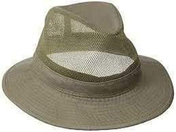 Dorfman Hat-Men's Garment Washed Lightweight Twill Safari -2 Colors - the-ladies-pro-shop-2