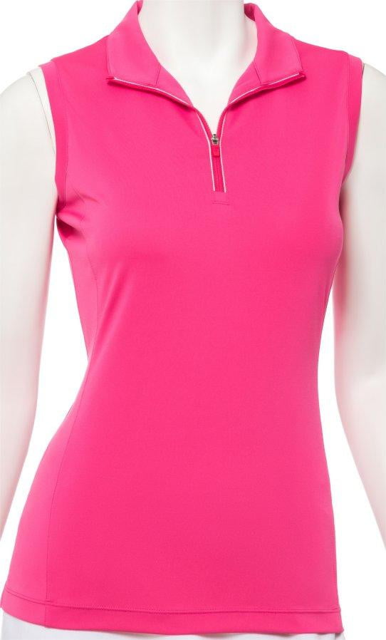 Shirts,EP Pro,EP Pro Women's Sleeveless Convertable Zip Mock Polo - 7 Colors,the-ladies-pro-shop-2,ladiesproshop,ladiesgolf,golfclothes,ladiesgolfclothes,cutegolfclothes,womensgolfclothes,ladiesgolfclothing,womensgolfclothing