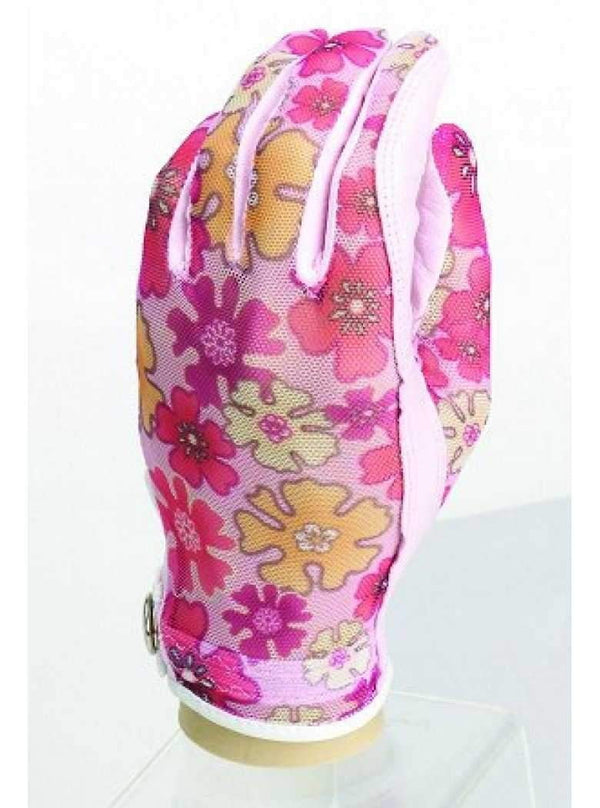 Evertan Designer Printed Golf Gloves(Pinks and Floral) - 8 Prints | The Ladies Pro Shop