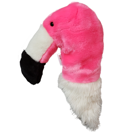 Daphne Flamingo Hybrid Headcover | Daphne's Headcovers