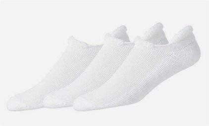 FJ Golf Socks-Cotton Soft Roll Top-3 Pack - White - the-ladies-pro-shop-2
