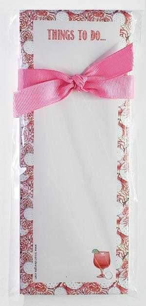 Gifts,Bloom Designs,Bloom Designs Things To Do Pads,the-ladies-pro-shop-2,ladiesproshop,ladiesgolf,golfclothes,ladiesgolfclothes,cutegolfclothes,womensgolfclothes,ladiesgolfclothing,womensgolfclothing