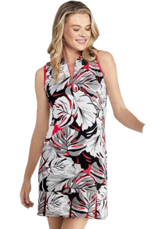 Tail Activewear Women's Robbie Sleeveless Golf Dress-Floral Print!