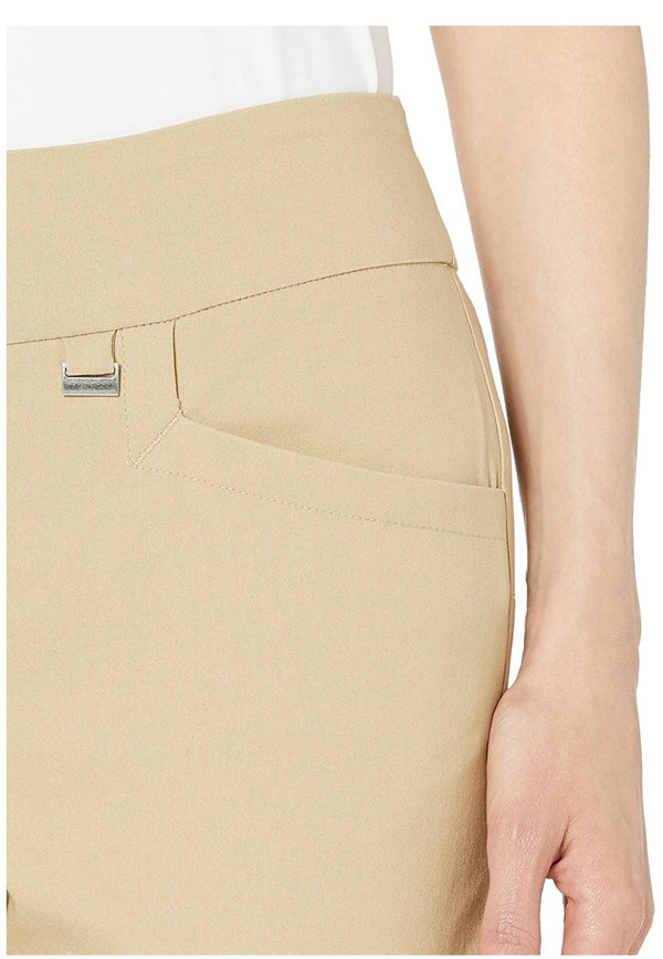 EP Pro Basic Women's Bi Stretch Pull On Golf Ankle Pant-Basic Colors- (In Stock Items)