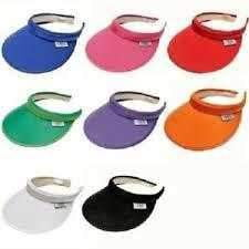 "Glove It Solid Collection Larger 4 "" Brim Clip on Visor - 8 Colors"