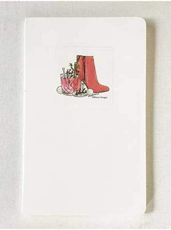 Notecards,Bloom Designs,Bloom Designs Slim Notebook,the-ladies-pro-shop-2,ladiesproshop