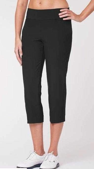Pants,Tail,Tail Basic Pull On Solid Stretch Woven Capri Pant,the-ladies-pro-shop-2,ladiesproshop