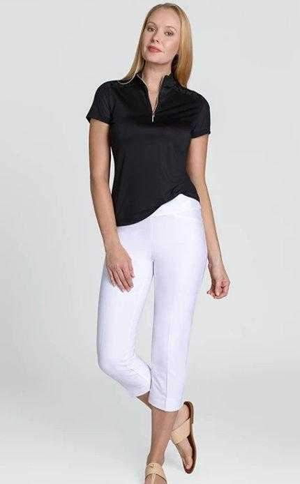 Pants,Tail,Tail Basic Pull On Solid Stretch Woven Capri Pant,the-ladies-pro-shop-2,ladiesproshop,ladiesgolf,golfclothes,ladiesgolfclothes,cutegolfclothes,womensgolfclothes,ladiesgolfclothing,womensgolfclothing