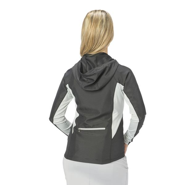 Nancy Lopez Lightweight Pivot Performance Hooded Jackets - Black or White