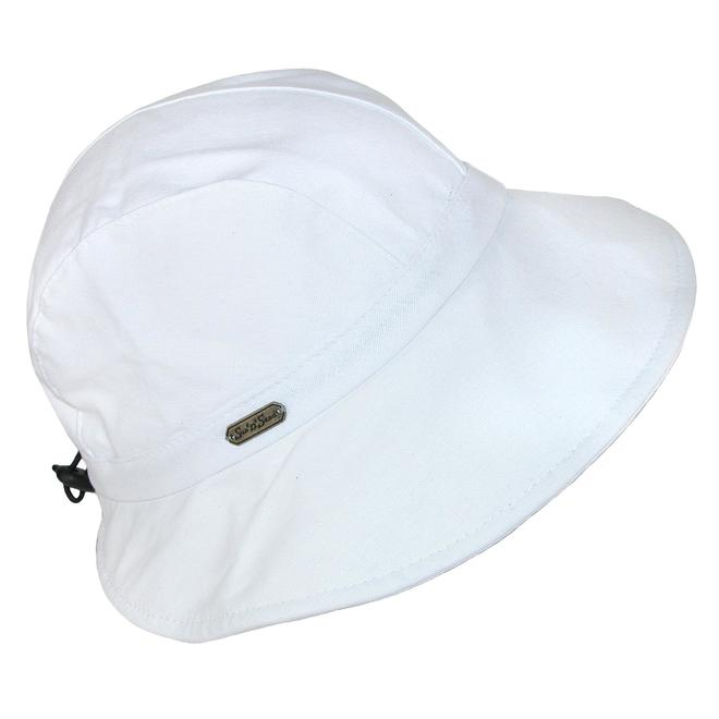 "Sun N Sand Cotton Hat W/Drawstring 3.5"" Brim- 5 Colors"