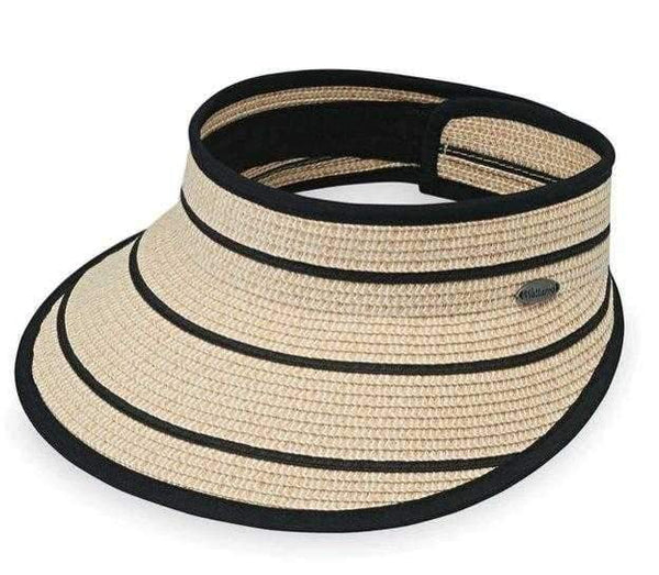 Hats,Wallaroo Hat,Wallaroo Savannah Straw Velcro Visor - Tan or Black,the-ladies-pro-shop-2,ladiesproshop,ladiesgolf,golfclothes,ladiesgolfclothes,cutegolfclothes,womensgolfclothes,ladiesgolfclothing,womensgolfclothing