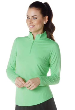 Shirts,IBKUL,IBKUL Women's Long Sleeved Solid Mock Neck Golf Sun Protection Shirt- Assorted Colors,the-ladies-pro-shop-2,ladiesproshop,ladiesgolf,golfclothes,ladiesgolfclothes,cutegolfclothes,womensgolfclothes,ladiesgolfclothing,womensgolfclothing