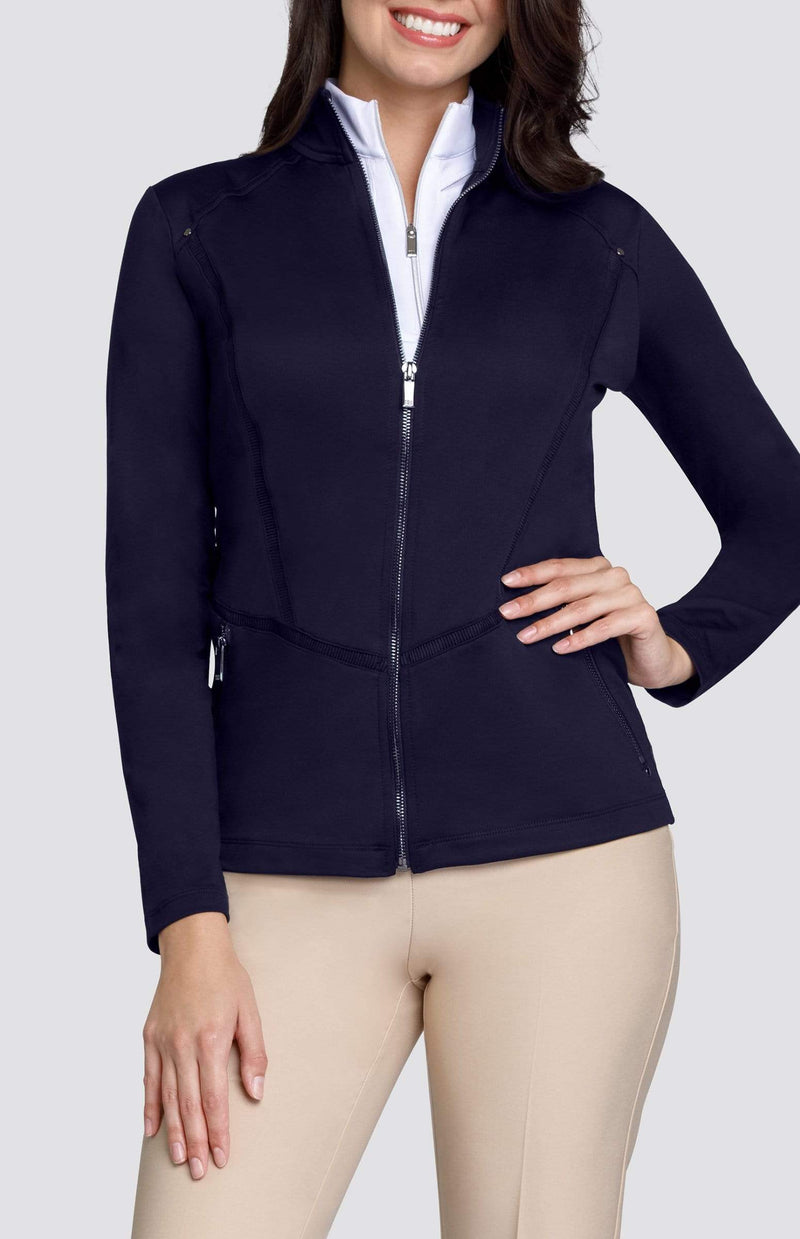 Tail Basic Leilani Fashion Knit Jacket -Black and Navy