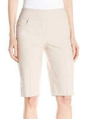 Shorts,Tribal,Tribal Flatten It Stretch Pull On Bermuda Shorts,the-ladies-pro-shop-2,ladiesproshop,ladiesgolf,golfclothes,ladiesgolfclothes,cutegolfclothes,womensgolfclothes,ladiesgolfclothing,womensgolfclothing